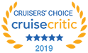 2018 Cruise Critic badge