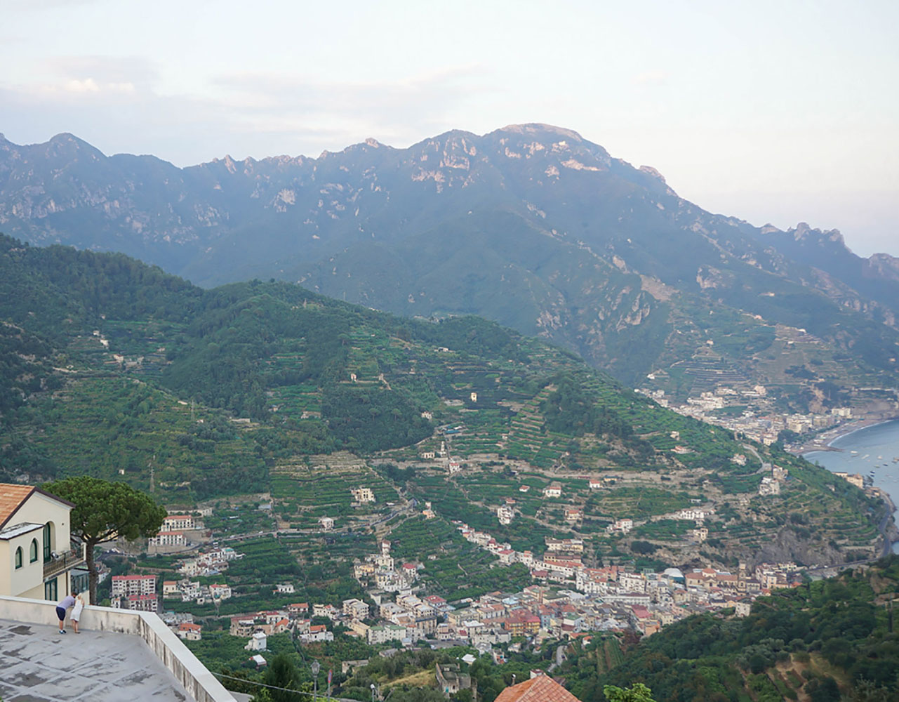 The peaceful town of Ravello is a hidden gem in Italy.