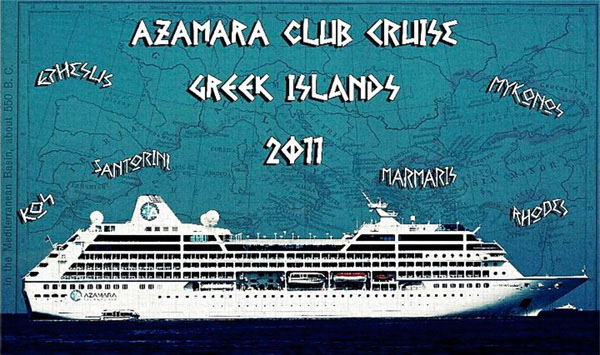 Azamara Club Cruises Greek Islands 2011 Album Cover