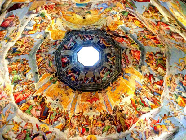 Beautiful ceiling painting