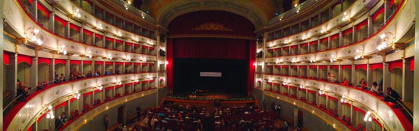 Opera house in Livorno