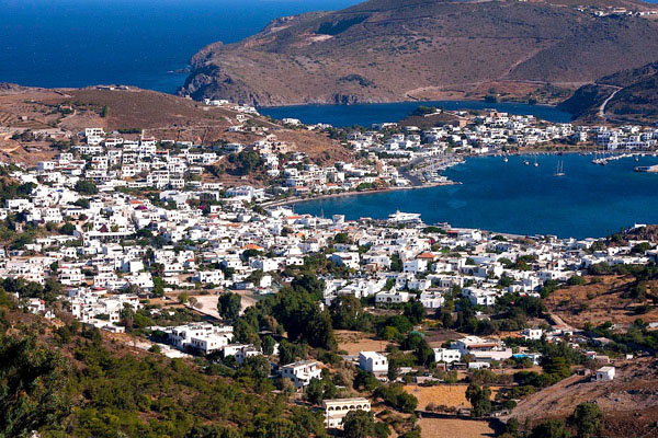 Patmos, Greece By Diane