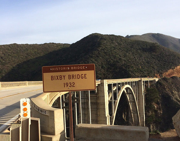 Famous Bixby Bridge