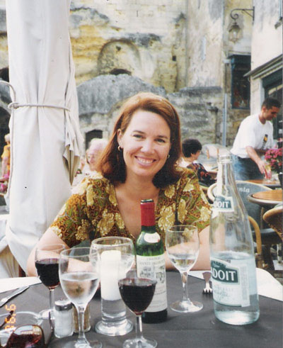 Here I am in Europe, back in 1996