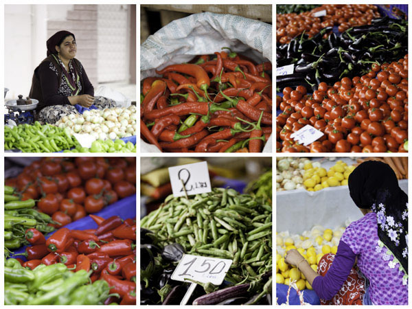 Photos from the Selcuk Market during a recent Azamara cruise to Kusadasi, Turkey