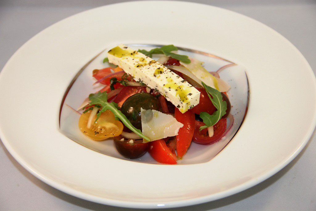 Sicilian Tomato and Onion Salad