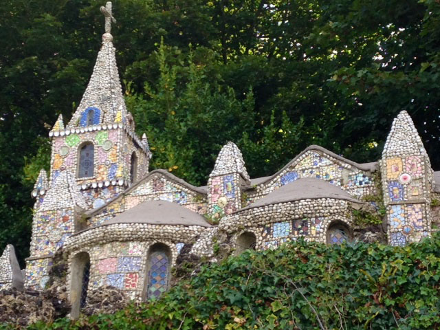 Mosaic Chapel in Guernsey