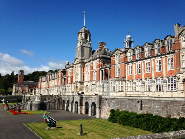 Royal Naval Academy in Dartmouth