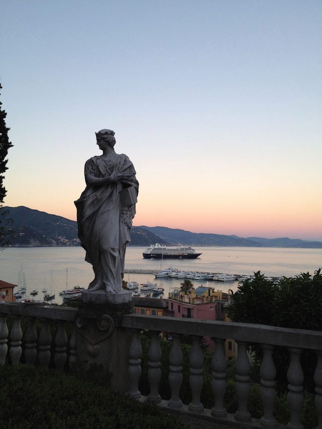 azamazing evening in santa margherita by jillian