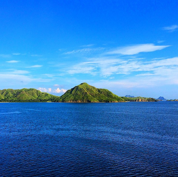 Komodo Island, Indonesia with Azamara Club Cruises.