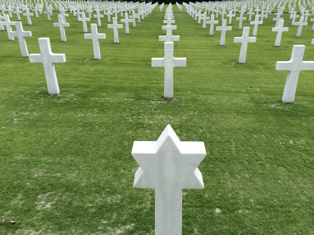 The American War Cemetery in Manila, Philippines.