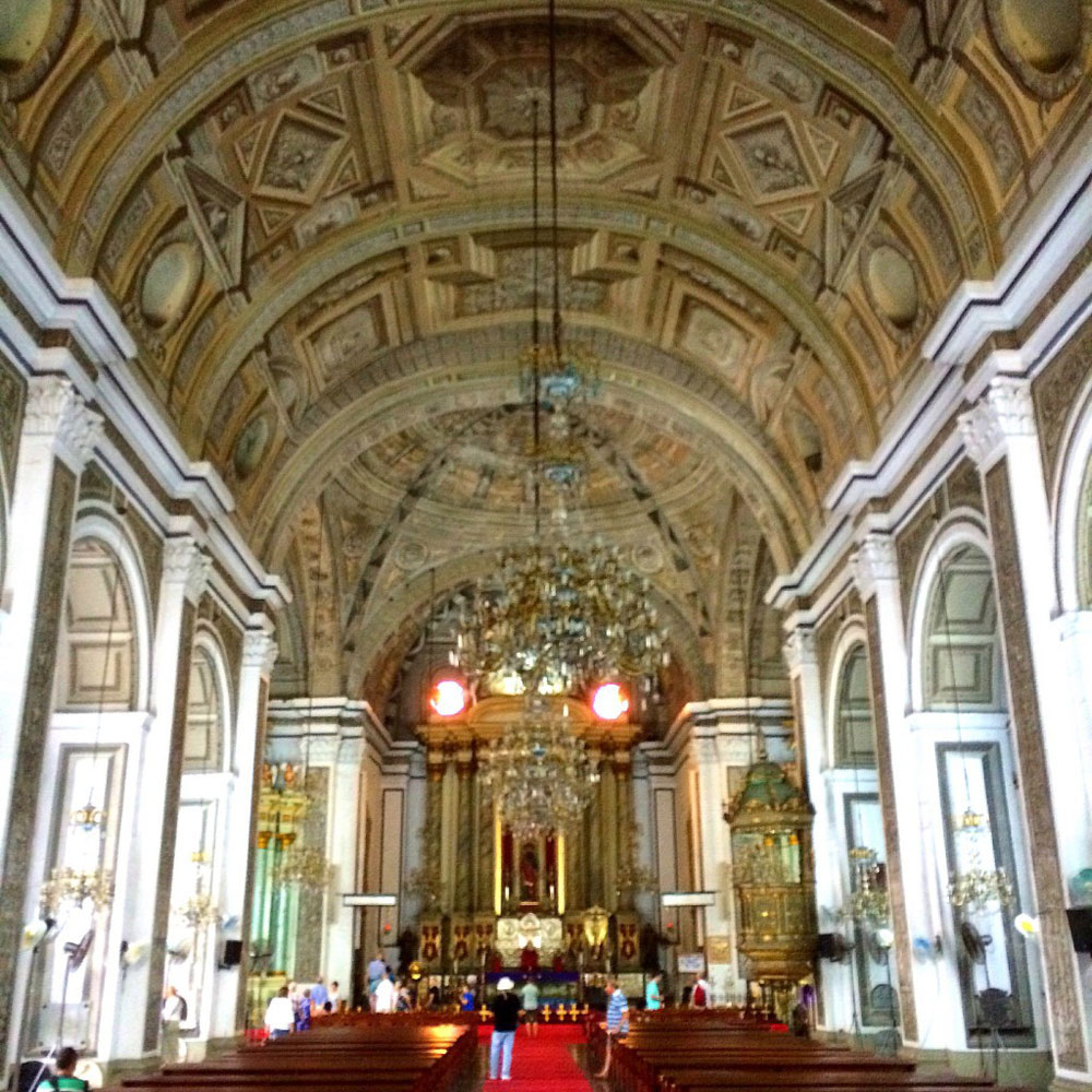 San Agustin Church in Manila, Philippines.