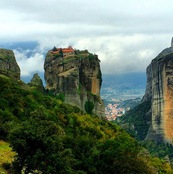Meteora, Greece. Dreaming of an Azamara cruise here! #travel