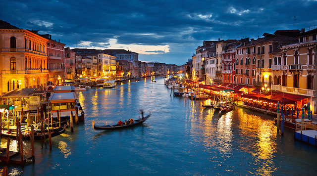 #Venice is one of the most romantic cities on Earth.