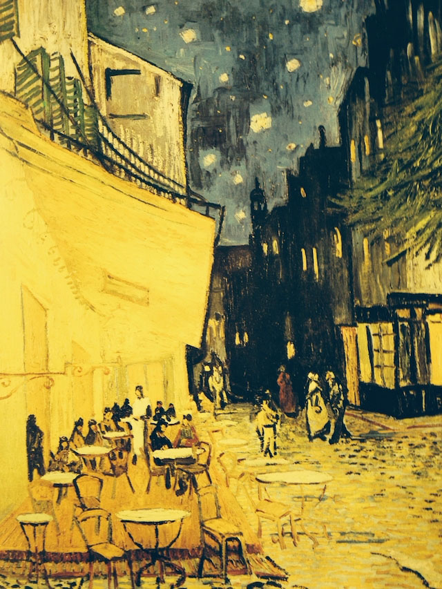 Cafe Terrace at Night, Arles 1888 – van Gogh