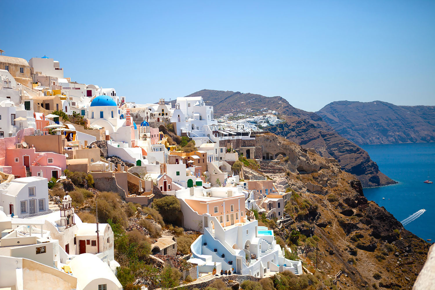 Santorini, Greece with Azamara Club Cruises