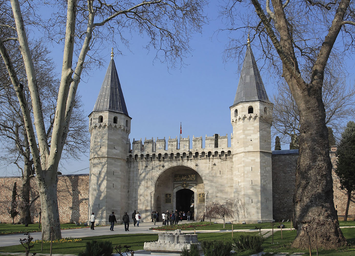 Topkapi Palace in Istanbul via Azamara Club Cruises