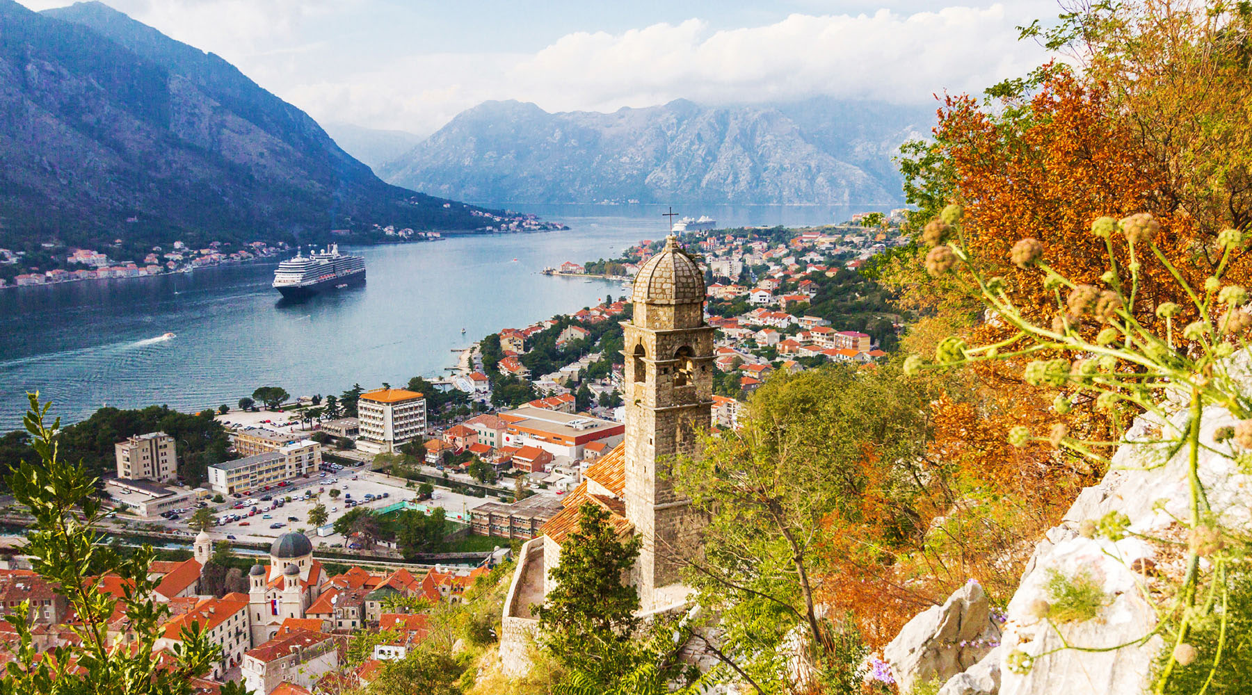 Cruising to Kotor, Montenegro with Azamara.