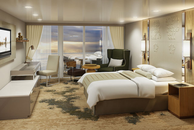 Club Continental Suite Rendering