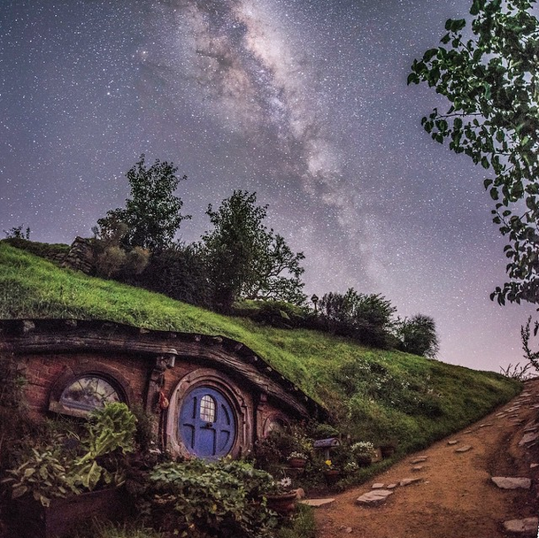 The Hobbiton™ Movie Set, near Tauranga, New Zealand.