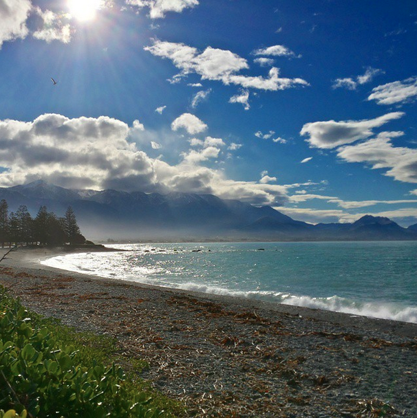 Kaikoura, New Zealand.