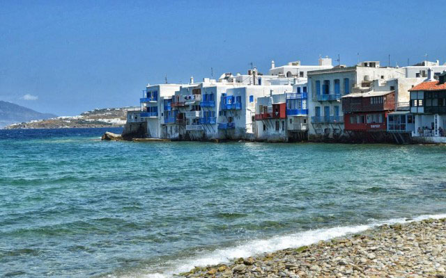 Cruising to the gay-friendly destination of Mykonos, Greece with Azamara Club Cruises.