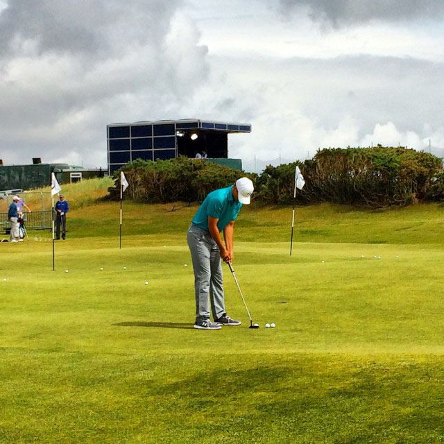The 2015 British Open with Azamara Club Cruises.