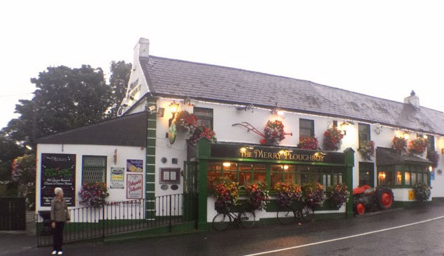 The Merry Ploughboy Pub in Dublin, Ireland