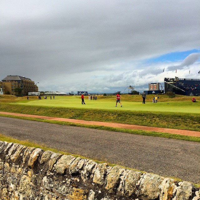 The Open 17th Hole