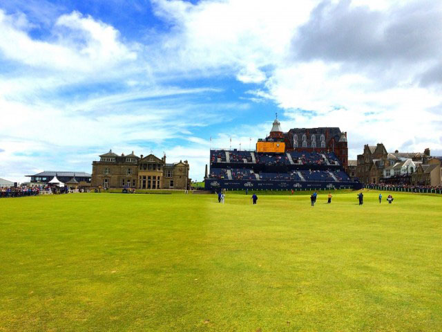 The Open at St Andrew's with Azamara Club Cruises