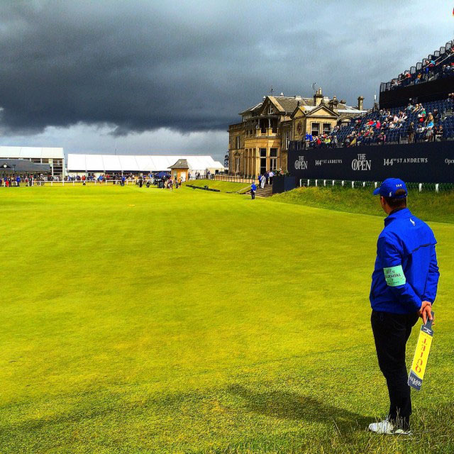 The 2015 British Open.