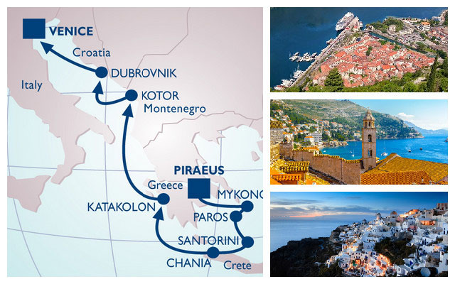 Cruise the Adriatic with Azamara.