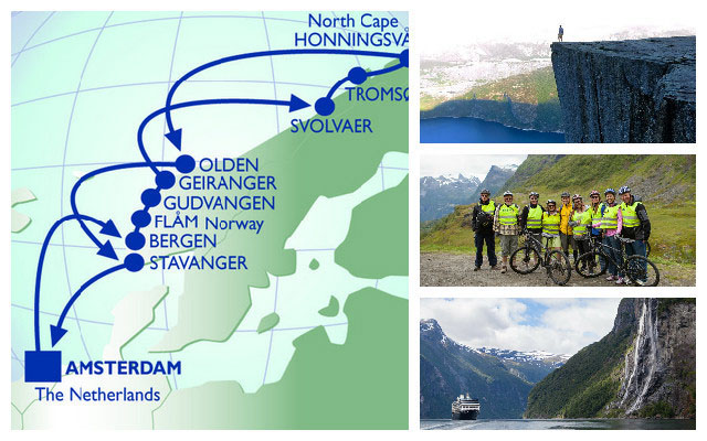 Cruise the Norwegian Fjords with Azamara.