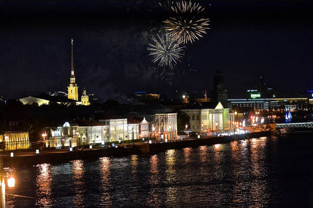 Staying overnight in St. Petersburg with Azamara Club Cruises.