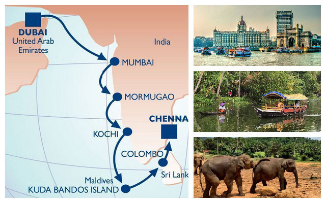 Travel the Spice Route with Azamara Club Cruises.
