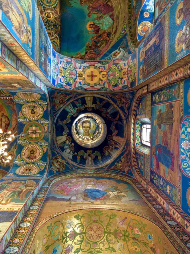 Inside the Church on Spilled Blood.