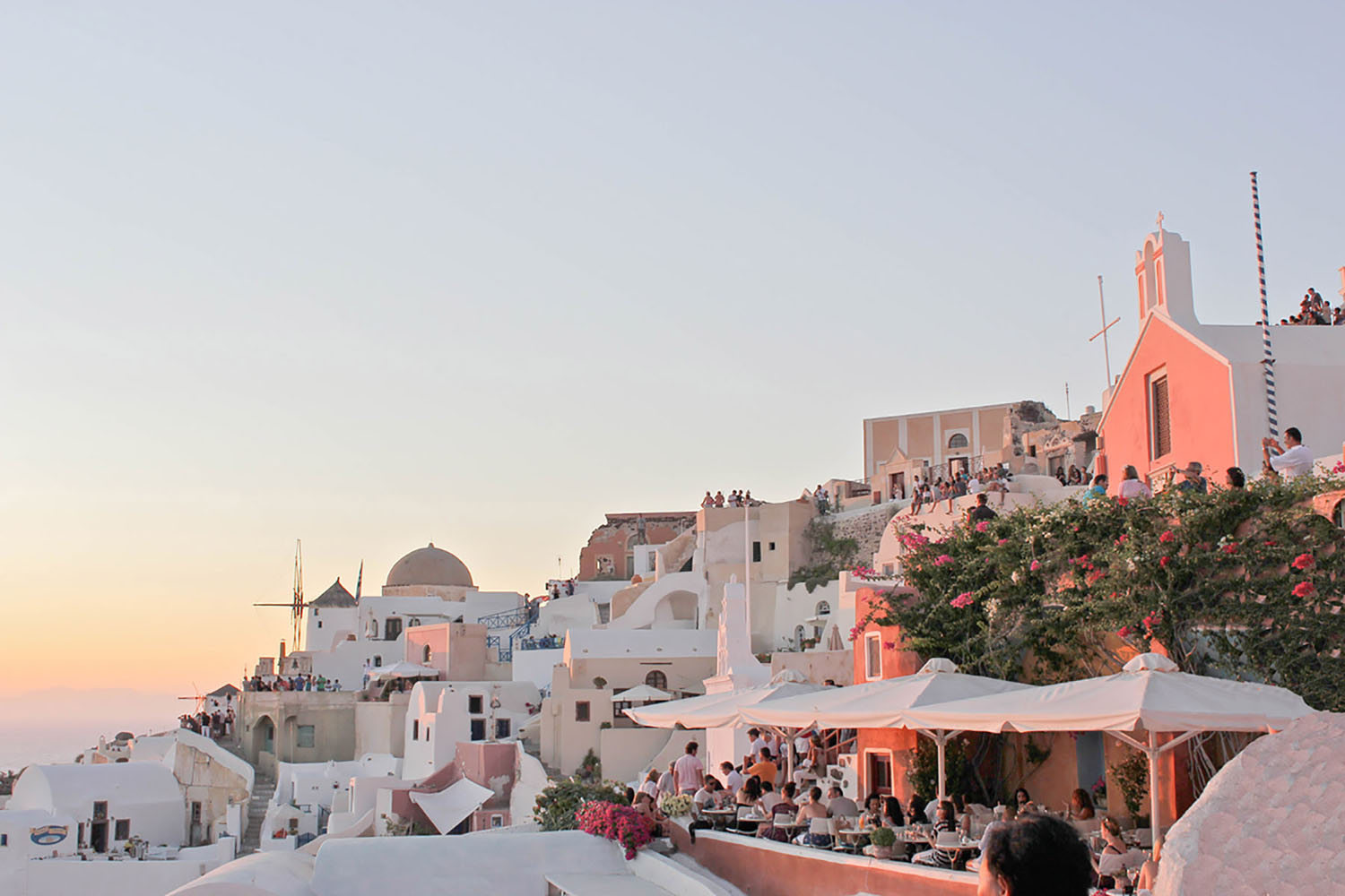 Santorini is considered one of the most photographed Greece islands and for good reason.