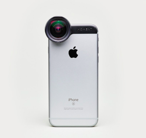 As the iPhone has evolved so have iPhone camera attachments. The latest favorite is the wide-angle lens by Moment.