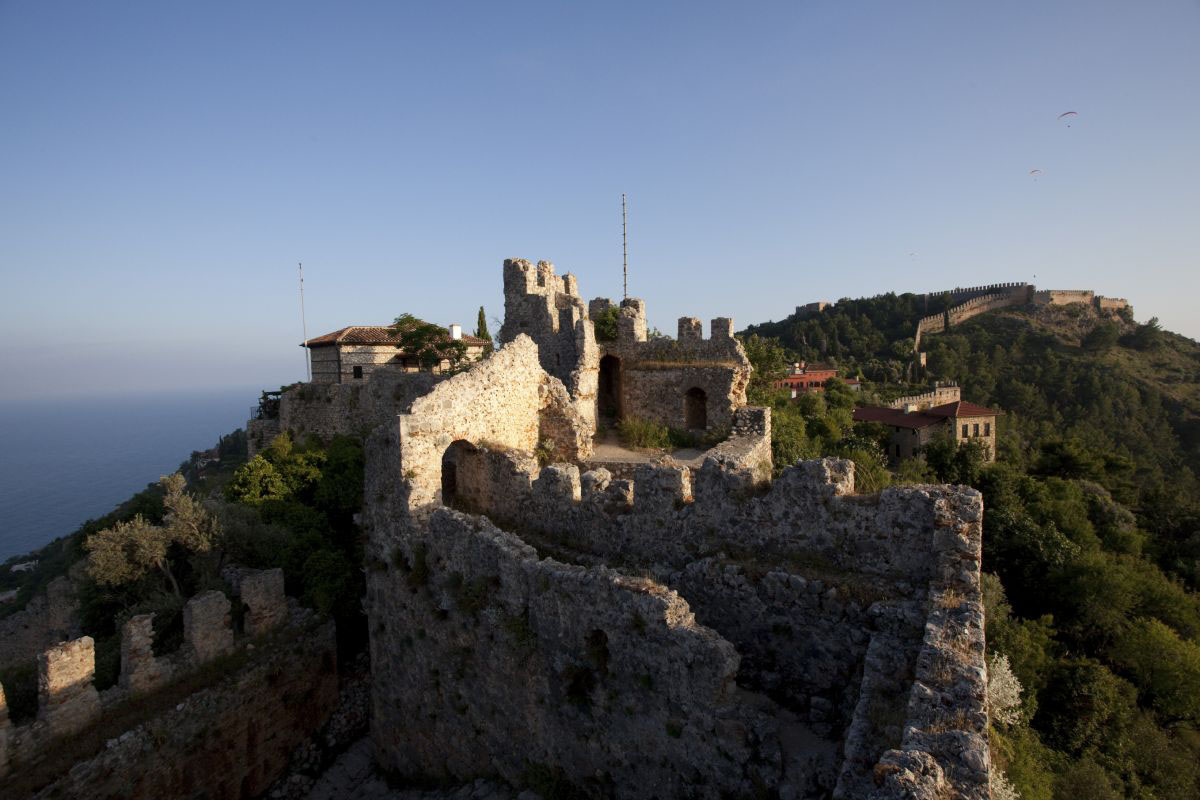 Alanya Castle in Alanya, Turkey