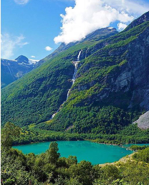 Lake Loen, Norway.