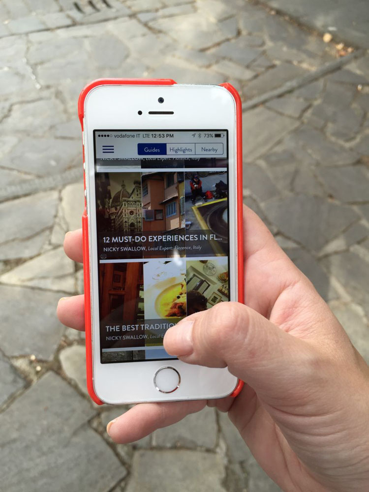 Azamara's Destination Immersion Travel Guide app