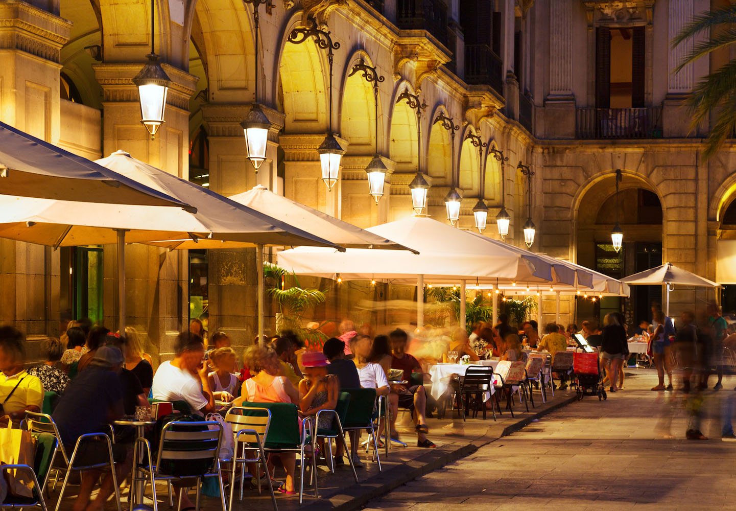 Nightlife is an important part of Spanish culture.