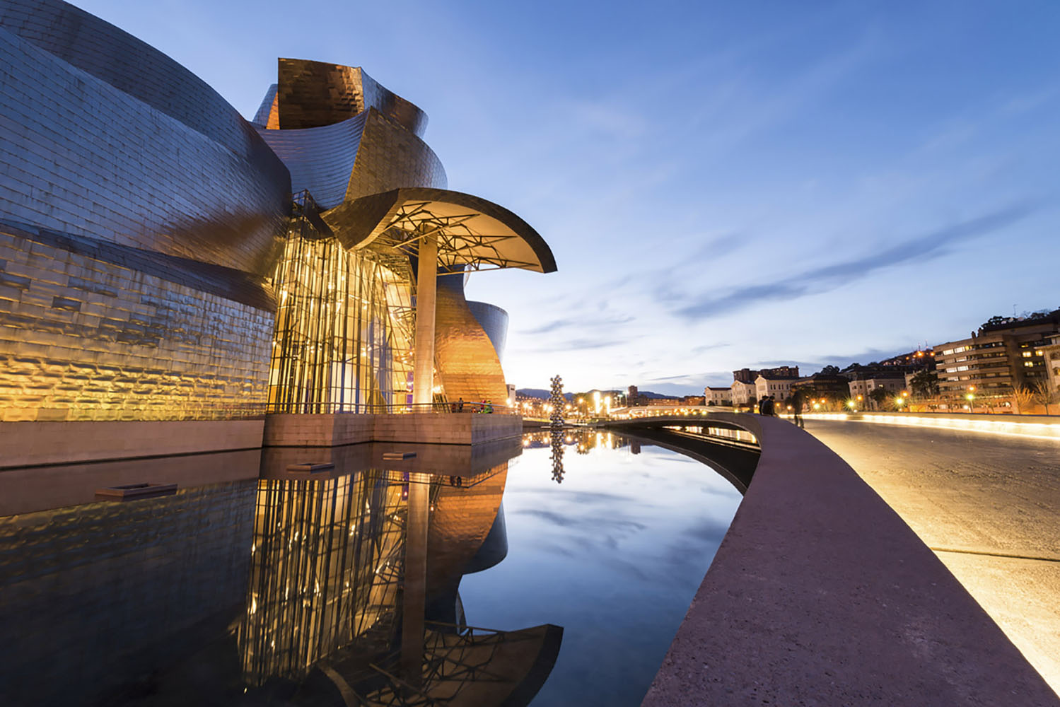 A Spanish city that should be on the bucket list of every art lover is Bilbao.