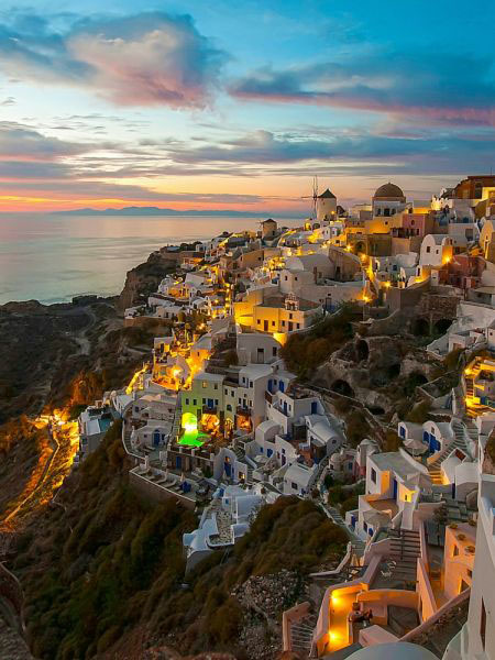 Mediterranean Destinations Light Up After The Sun Goes Down