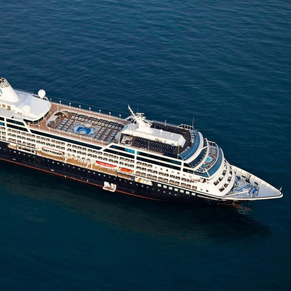 Q. How does the Azamara pricing compare with that of other luxury cruise lines