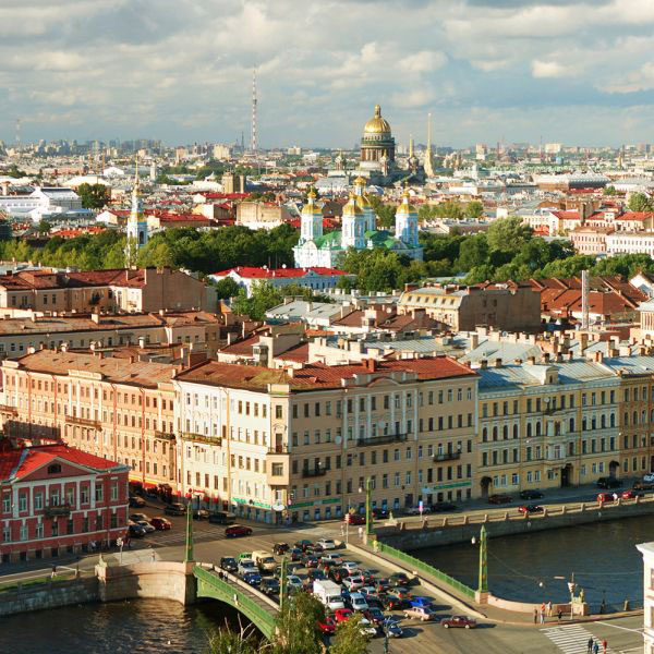 Destination Immersion in St. Petersburg, Russia