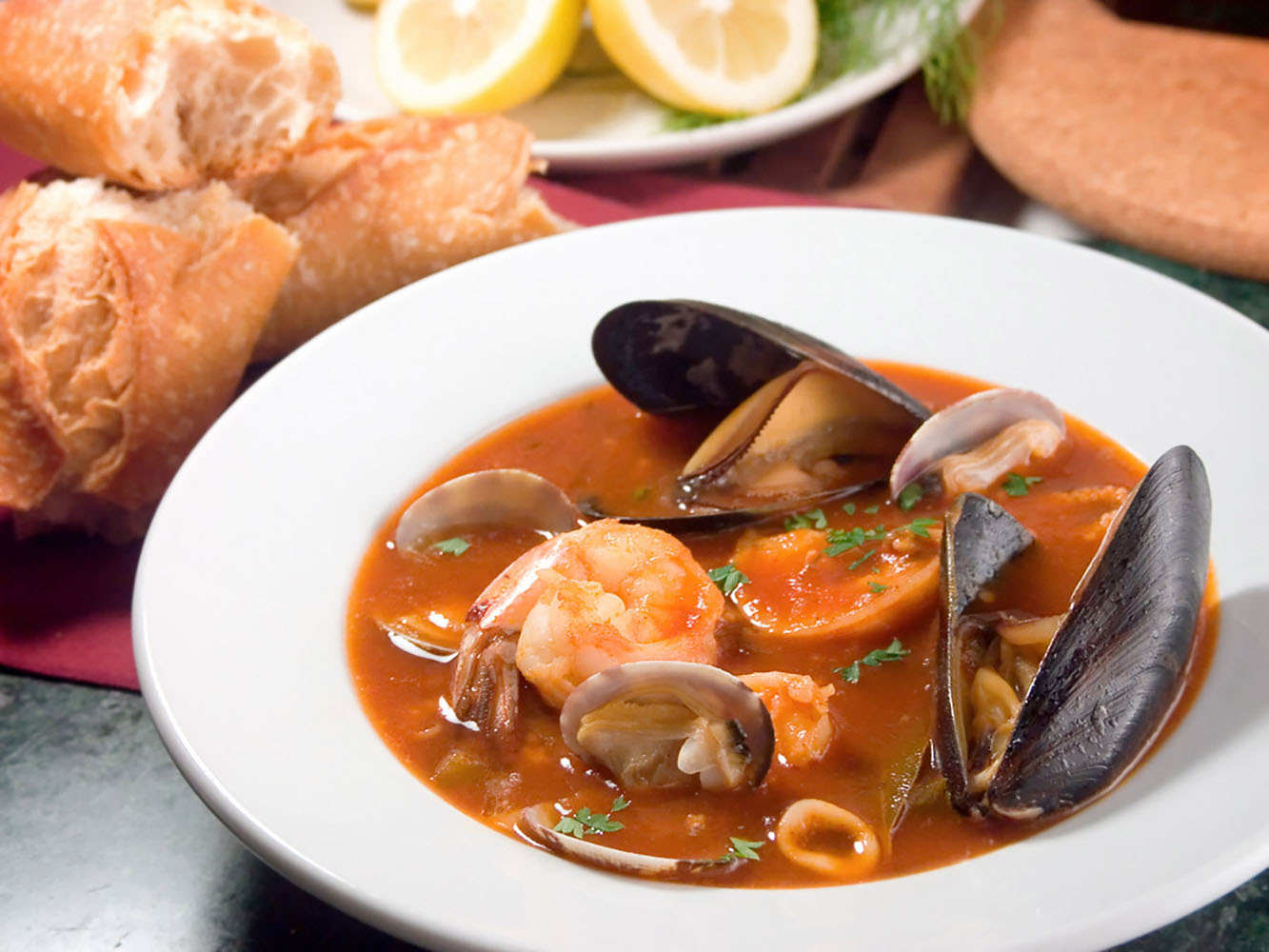 When in Southern France, you must try bouillabaisse—a well-known fish stew hailing from the port city of Marseilles.