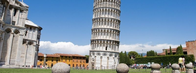 Field Of Miracles And Leaning Tower Of Pisa