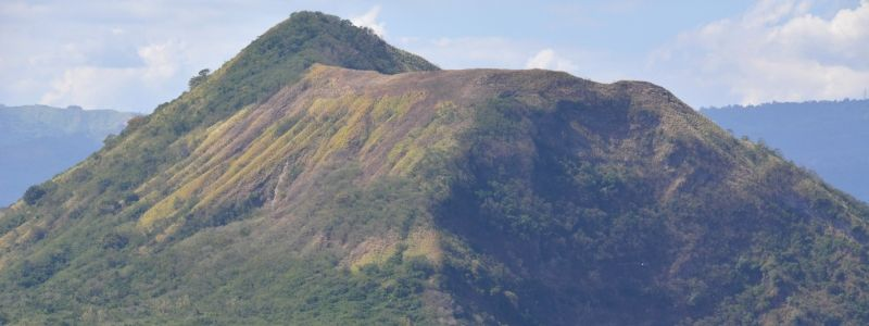 Banahaw And Makiling Mountains