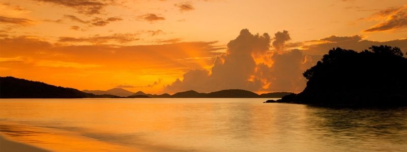 Panoramic St. John with Trunk Bay